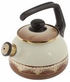METROT Чайник со свистком Терракот 2,5 л