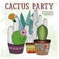 ЭКСМО Раскраска-антистресс Cactus party