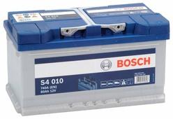 Автомобильные аккумуляторы Bosch S4 010 (580406074) 80 А/ч