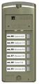 Вызывная (звонковая) панель на дверь VIZIT БВД-306FCP-6