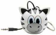 Портативная акустика Kitsound Mini Buddy Zebra