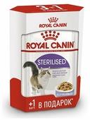 корма ROYAL CANIN Sterilised Кусочки в желе 85g для кошек для стерилизованных кошек 787001