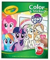 Crayola Раскраска с наклейками Моя маленькая Пони