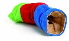 Игрушка для грызунов IPTS Туннель плюшевый цветной 25 см