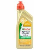 Трансмиссионное масло Castrol Syntrax Long Life 75W-90