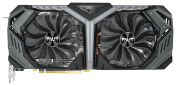 Видеокарта Palit GeForce RTX 2070 SUPER 1605MHz PCI-E 3.0 8192MB 14000MHz 256 bit HDMI HDCP GameRock