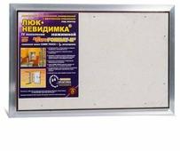 Ревизионный люк Евроформат ЕТР 60-40 настенный под плитку ПРАКТИКА