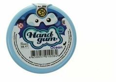 Жвачка для рук HandGum Светящийся голубой 35 г (10284)