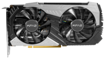 Видеокарта KFA2 GeForce RTX 2060 Super 1665MHz PCI-E 3.0 8192MB 14000MHz 256 bit DVI HDMI DisplayPort HDCP 1-Click OC