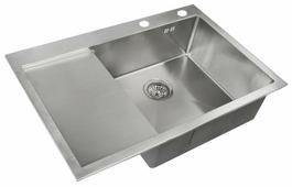 Врезная кухонная мойка ZorG INOX RX-7851-R 78х51см нержавеющая сталь