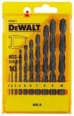 Набор сверл DeWALT DT5911-QZ, 10 шт.