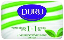 Крем-мыло кусковое DURU Soft sensations 1+1 Зелёный чай