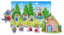 Vladi Toys Магнитный театр Волк и семеро козлят (VT3206-23)