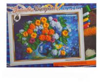 Danko Toys Вышивка для детей Хризантемы 35 х 25 см (BV01R03)