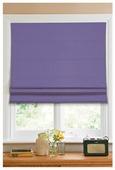 Римская штора Эскар тканевая (фиолетовый)