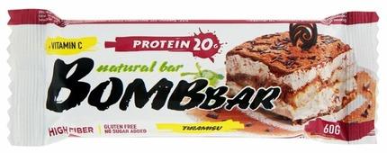 Протеиновый батончик Bombbar Тирамису, 60 г