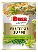 Buss Суп Праздничный с фрикадельками и омлетом 400 мл
