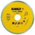 Диск алмазный отрезной 110x20 DeWALT DT3714