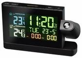 Метеостанция BRESSER Часы проекционные с цветным дисплеем (73277)