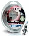 Лампа автомобильная галогенная Philips H1 3250K Vision Plus 12V 55W + 60% 2 шт.