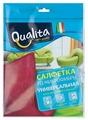 Салфетка из микрофибры Qualita универсальная