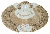 Декоративный коврик ARLONI Обезьянка 50 х 80 см