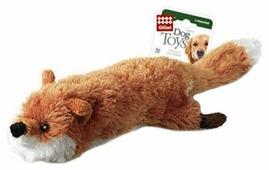 Игрушка для собак GiGwi Dog Toys Лиса с бутылкой (75016)
