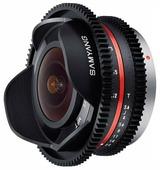 Объектив Samyang 7.5mm T3.8 Fisheye VDSLR Micro 4/3