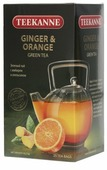 Чай зеленый Teekanne Ginger & orange в пакетиках