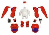 Фигурка Bandai Big Hero 6 Беймакс с комплектом брони 41295