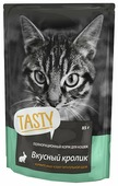 Корм для кошек Tasty Влажный корм с кроликом в паучах