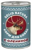 Корм для собак Solid Natura Фаршевое консервированное питание с олениной