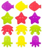 Набор ковриков для ванны Roxy kids RBM-010-12