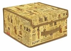 Valiant Короб стеллажный с крышкой BOX-LS 16х30х28 см
