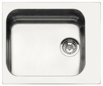 Врезная кухонная мойка smeg VS45-P3