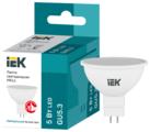 Лампа светодиодная IEK ECO софит 4000K, GU5.3, MR16, 5Вт