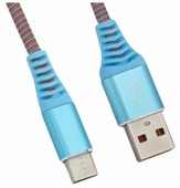 """Кабель Liberty Project USB - USB Type-C """"Носки"""" 1 м"""
