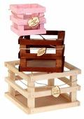 Ящик Дарите счастье набор 3в1 Романтика 10×10×10, 15×15×11, 20×20×13 см