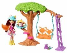 Набор с куклой Enchantimals Приключения Фелисити Лис, 15 см, FRH45