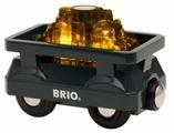 Brio Грузовой вагон с золотом, 33896