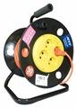 Jett Электрический удлинитель на катушке 4 гн. 30 м (ПВС 2x0,75)