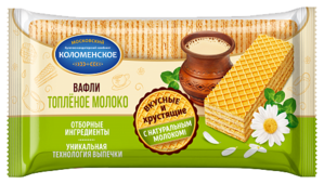 Вафли Коломенское со вкусом топленое молоко 220 г
