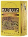 Basilur Tea Company Чай черный Basilur The island of tea Ceylon Gold в пакетиках