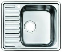 Врезная кухонная мойка IDDIS Strit STR58SRi77 58.5х48.5см нержавеющая сталь