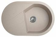 Врезная кухонная мойка ORIVEL Vesta Plus 78х50см искусственный гранит