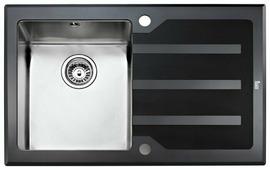 Врезная кухонная мойка TEKA Lux 1B 1D 78 78х51см нержавеющая сталь