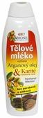 Молочко для тела Bione Cosmetics с Аргановым маслом и маслом ши