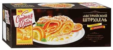 Пирог Сдобная особа Австрийский штрудель лимон и апельсин