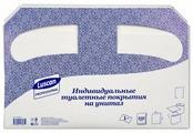 Покрытия на унитаз Luscan Professional 1/2 сложения 200 шт.