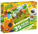 Пазл Origami МиМиМишки Веселые выходные (03679), 35 дет.